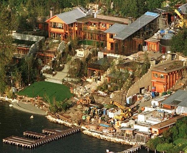 Bill Gates house,बिल गेट्स घर
